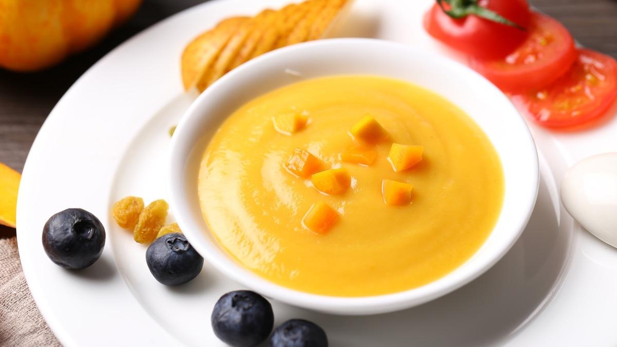 Crema fría de zanahoria