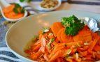 Receta de ensalada de zanahorias aliñadas con pipas