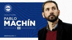 El Alavés anuncia la contratación de Pablo Machín. (deportivoalaves.com)