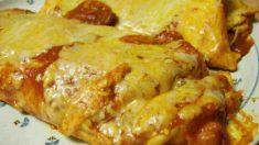 Receta de enchiladas de avena