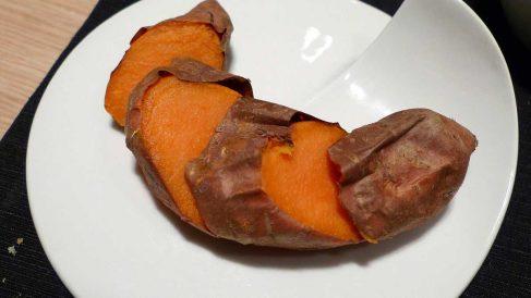 Receta de Boniato asado especiado para guarniciones