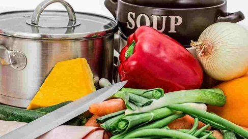 Organización de menús: cocina por lotes