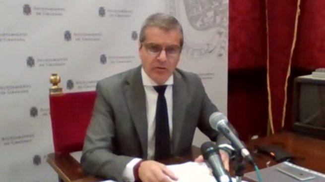El portavoz del equipo de gobierno local de Granada y vicepresidente de Emucesa, César Díaz estalla contra Sánchez y advierte de la expropiación de