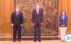 Felipe VI retoma su agenda tras la marcha de Don Juan Carlos: recibe en Zarzuela al canciller de Uruguay
