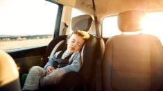 Los niñoso pueden sufrir fácilmente un golpe de calor si los dejamos dentro del coche