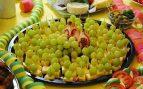 Postres con uvas