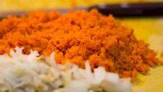 Receta de zanahorias jugosas