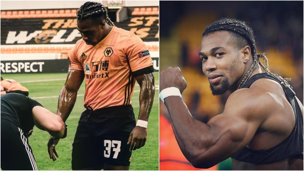 Adama Traoré sigue sorprendiendo por su físico.
