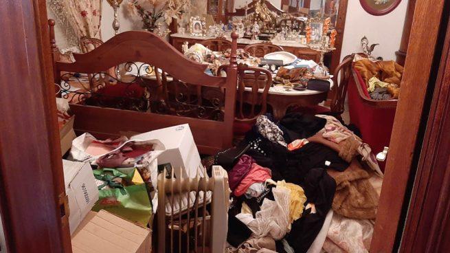 Un hacha y sangre en el sofá: el registro y las imágenes de la casa de Chapinería