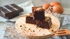 Bizcocho de chocolate con harina de almendras