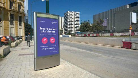 Anuncios de Cabify en Málaga