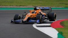 Carlos Sainz, durante una carrera. (AFP)
