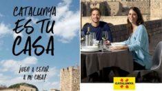 Imagen de la campaña 'Cataluña es tu casa'.
