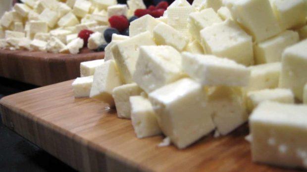 Pasta con salsa de boniatos y queso