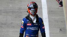 Carlos Sainz, en la clasificación del GP 70 aniversario. (Getty)