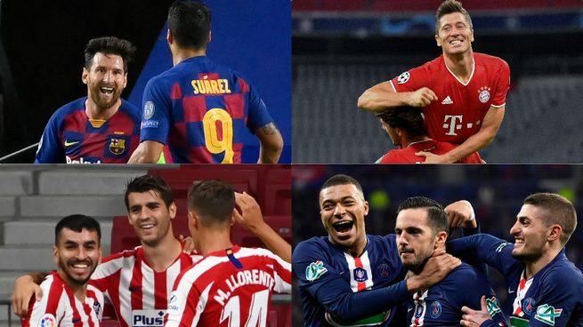 Análisis: así llegan los ocho equipos que intentarán ganar la Champions en Lisboa
