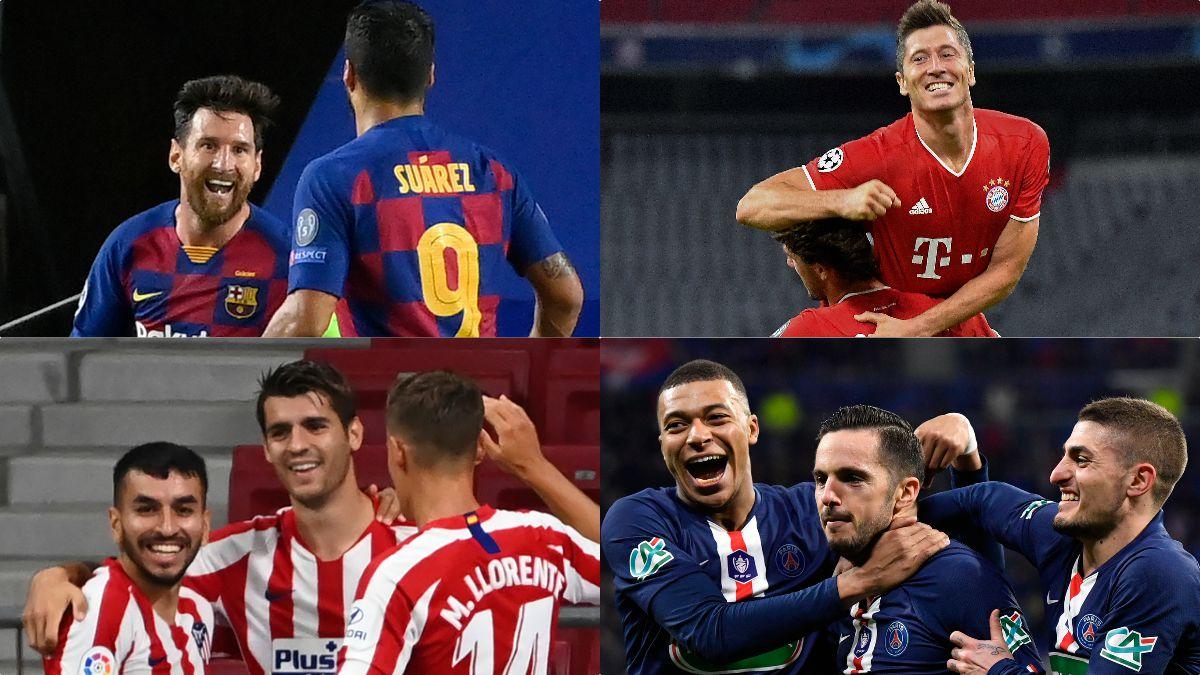 La Champions League ya conoce los ocho finalistas que se jugarán el título en Lisboa.