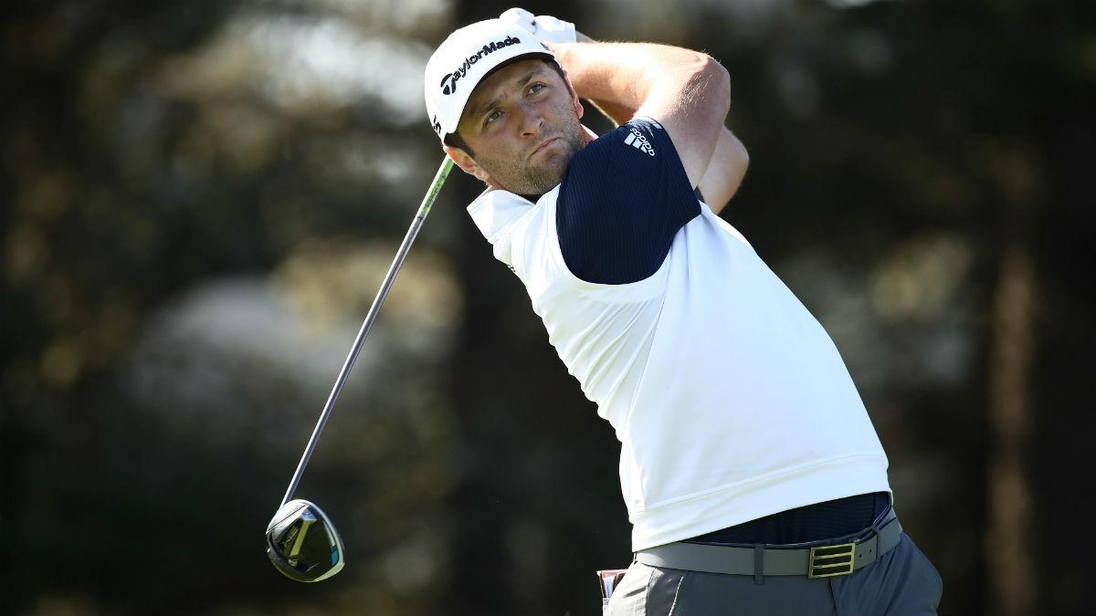 Jon Rahm, en la segunda jornada del PGA Championship. (Getty)