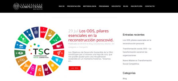 La mujer de Sánchez utiliza la crisis de la pandemia para promocionar su nuevo máster a 7.000 € por alumno