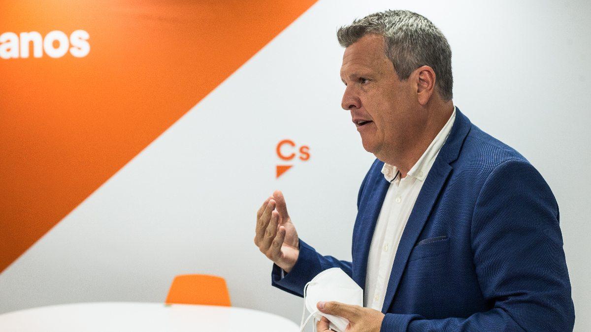 El vicesecretario general de Ciudadanos, Carlos Cuadrado. (Foto: EP)