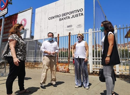 Ciudadanos lamenta «la preocupante dejadez» del Centro Deportivo Santa Justa de Sevilla