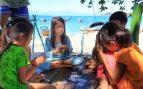 juegos cartas playa