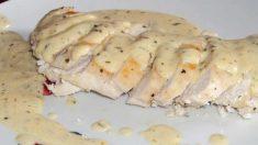 Receta de Pollo cocinado con estragón