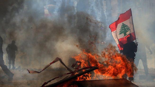 La inestabilidad conquista Líbano una semana después de la explosión de Beirut
