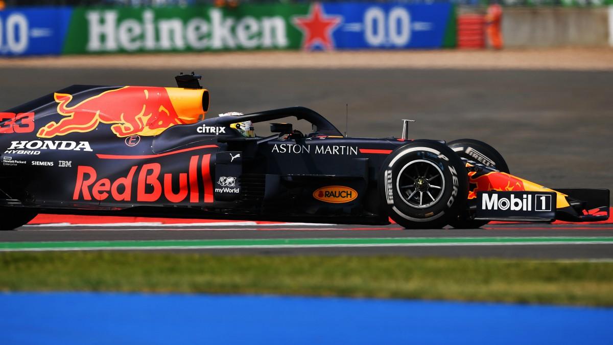 Verstappen ganó en Gran Bretaña. (Getty)
