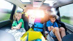 Consejos para viajar cómodos con los niños en el coche