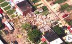 Una explosión de gas derrumba tres edificios en Baltimore