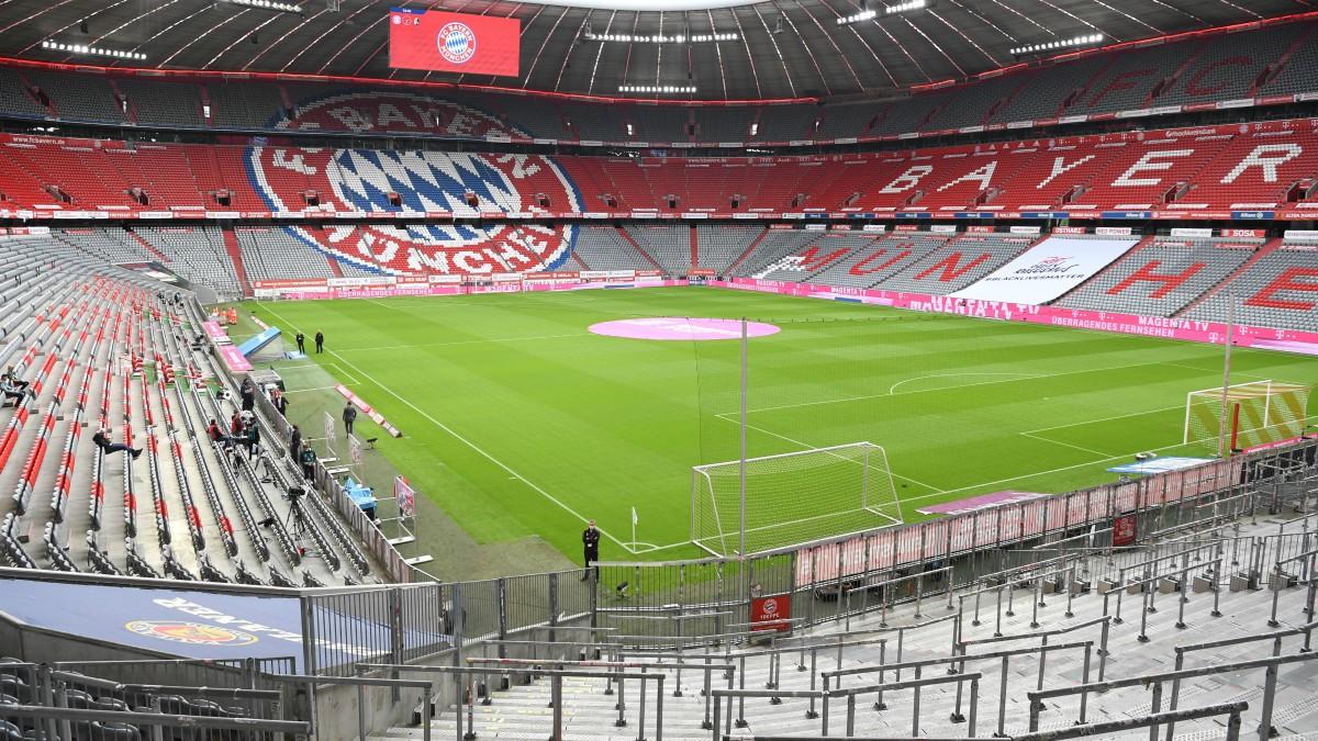 El Allianz Arena, estadio del Bayern de Múnich, vacío. (AFP)