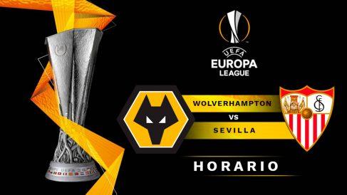 Wolverhampton – Sevilla: horario y dónde ver por TV el partido de Europa League.
