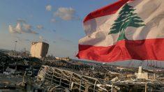 Imagen tras la explosión registrada en Beirut. Foto: EP