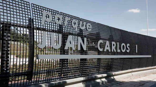 Los votos de PP, Cs y Vox rechazan la propuesta de cambiar el nombre del parque Juan Carlos I
