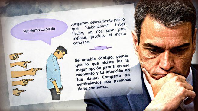 Los consejos de autoayuda del Gobierno para la crisis del Covid: «Si te sientes culpable, no te juzgues»