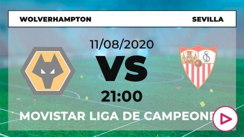 Wolverhampton-Sevilla: horario y dónde ver el partido de Europa League hoy en directo por TV online.