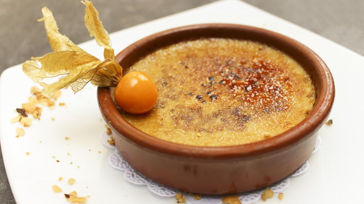 Crema catalana al microondas