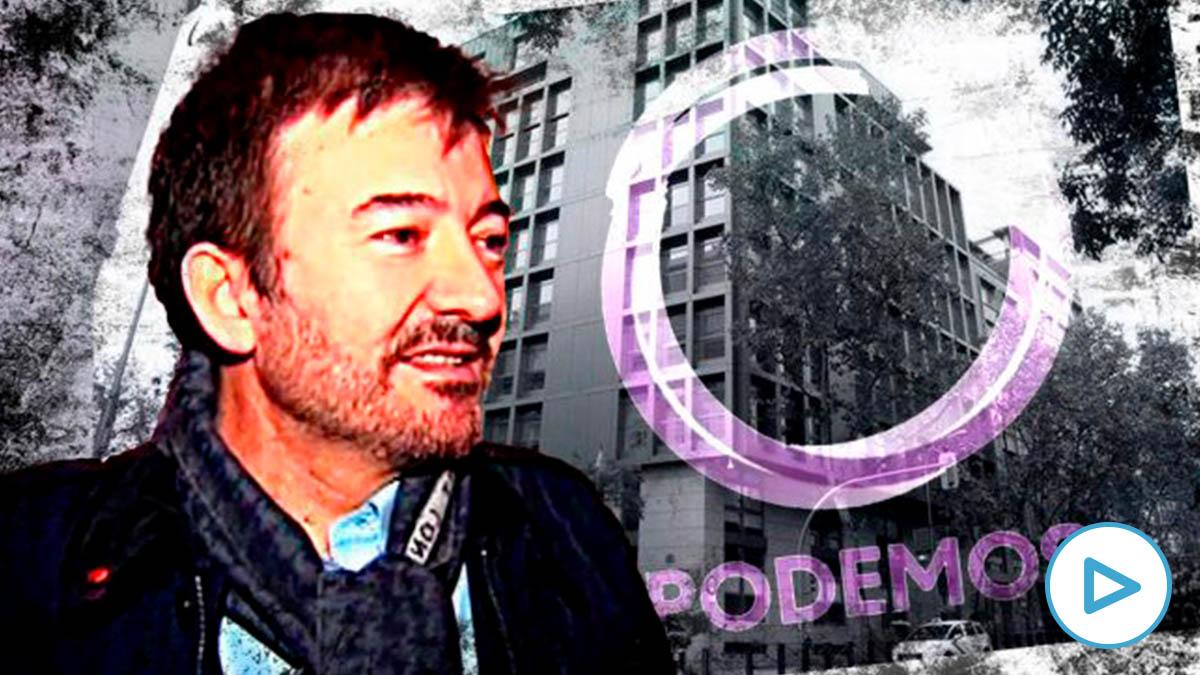 José Manuel Calvente, el abogado purgado de Podemos.