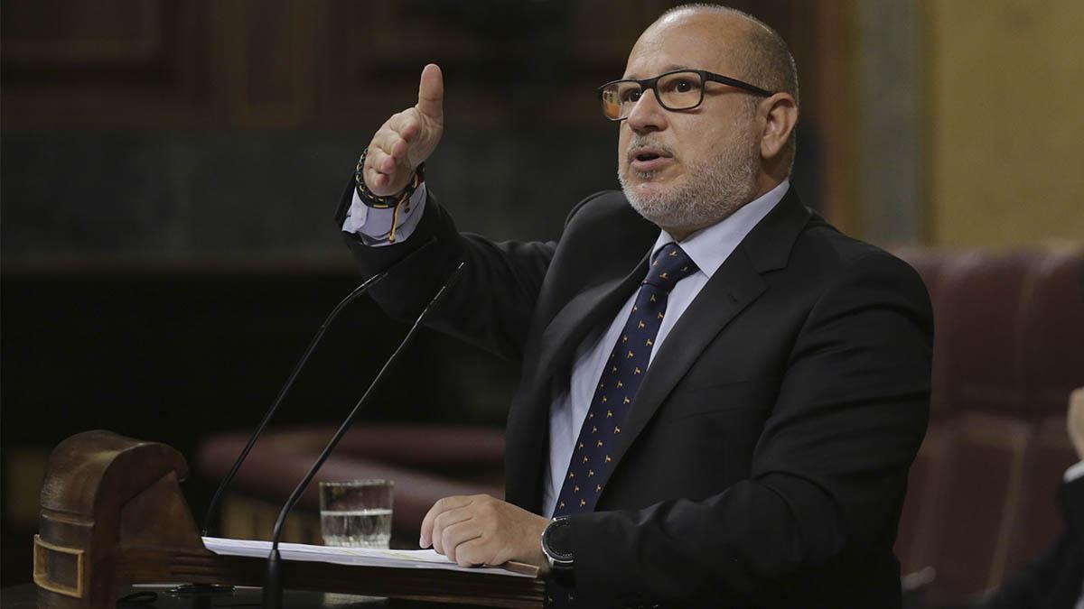 El diputado de Vox Francisco José Alcaraz. (Ep)