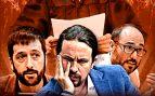 El juez imputa a la mano derecha de Iglesias, a la gerente y al tesorero de Podemos por la caja B del partido