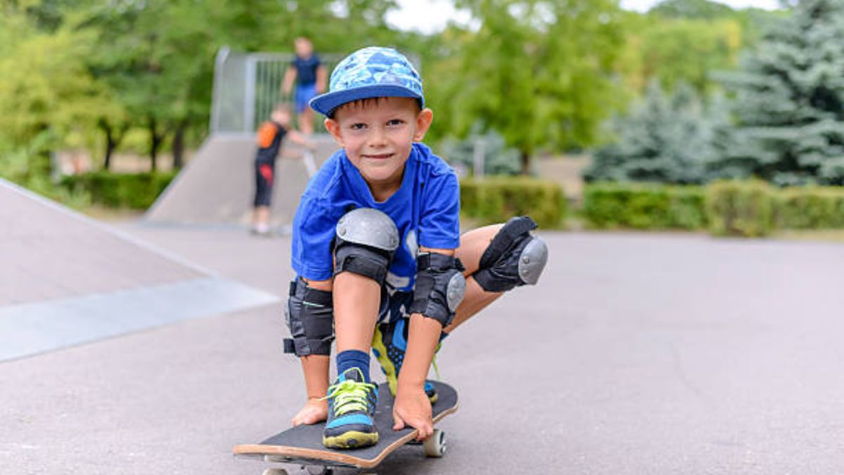 Consejos para que los niños sepan aprender a usar un skateboard