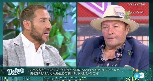 Amador Mohedano hablando de Rocío Carrasco