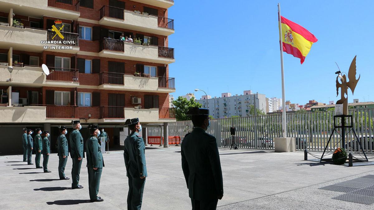 Comandancia de la Guardia Civil en Palma. (Foto: Europa Press)