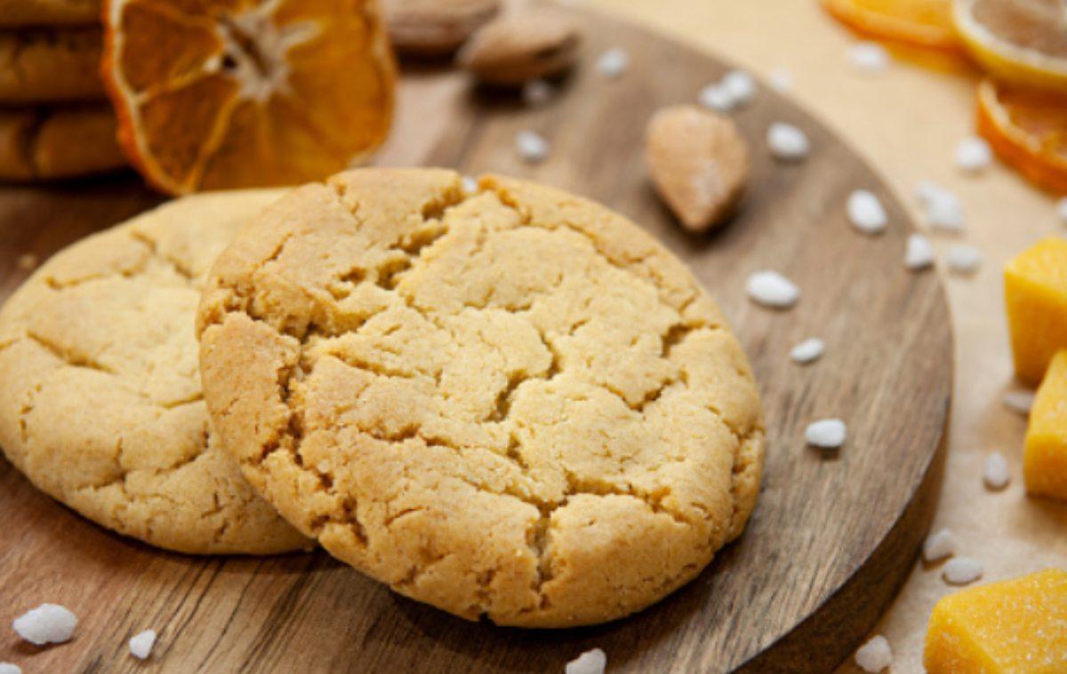 galleta de naranja y almendras