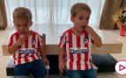 Los gemelos de Morata se someten a su primera entrevista con dos años