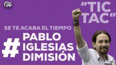 #PabloIglesiasDimisión