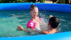 Las pautas de la OCU para usar las piscinas hinchables de los niños con seguridad