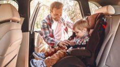 Elegir el SRI adecuado para la sillita de los niños puede evitar graves lesiones