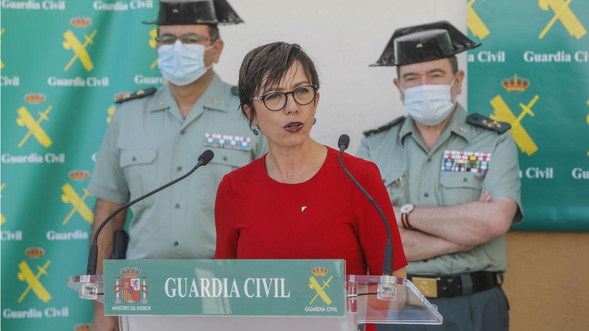 La directora general de la Guardia Civil, María Gámez. (Foto: Europa Press)